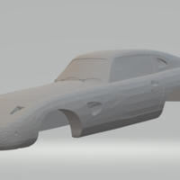 Small aston martin dp 215  3D Printing 258024