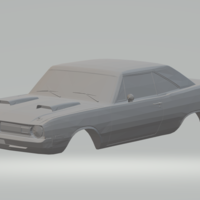 Small dodge dart swinger  3D Printing 258026