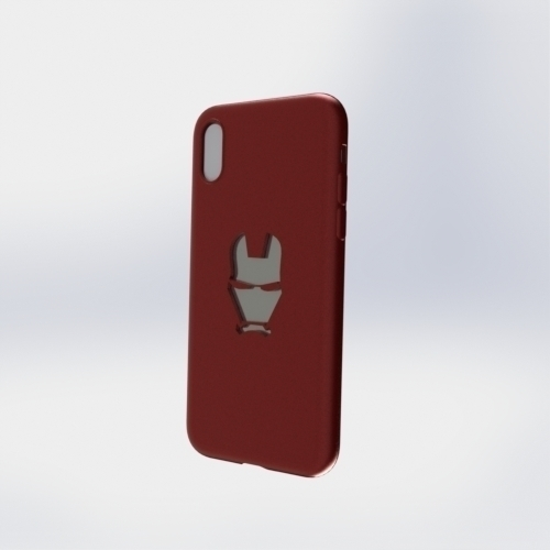 IPhone X Ironman Case 3D Print 258056