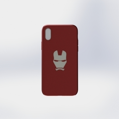 IPhone X Ironman Case 3D Print 258057