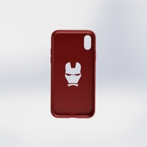 IPhone X Ironman Case 3D Print 258060