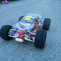 Small OpenRC 1:10 4WD Truggy Concept RC Car 3D Printing 25822