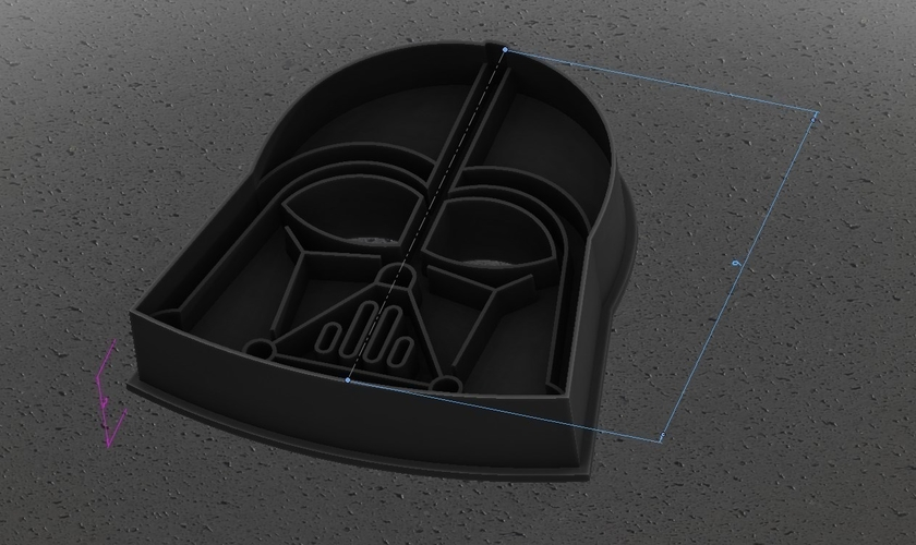 Star Wars cookie cutters- 100 and 80mm (Free) 3D Print 258222