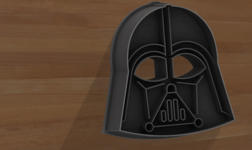 Star Wars cookie cutters- 100 and 80mm (Free) 3D Print 258225