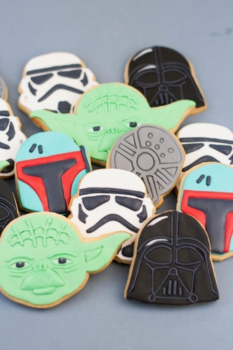 Star Wars cookie cutters- 100 and 80mm (Free) 3D Print 258256