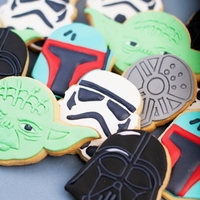 Small  Star Wars cookie cutters- 100 and 80mm (Free) 3D Printing 258257