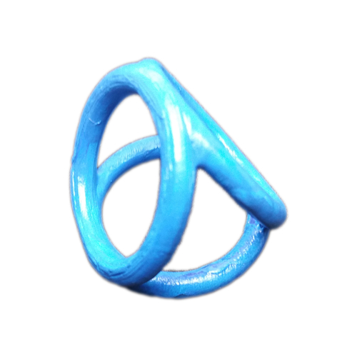 Scarf buckle triple ring with diameter 28mm 3D Print 258311