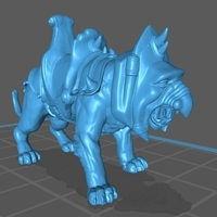 Small Batttle Cat  3D Printing 258377