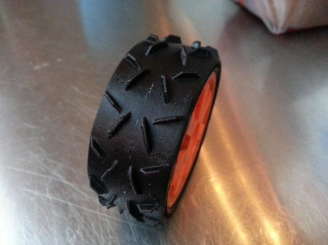 OpenRC 1:10 Experimental Wheel (Dualstrusion) 3D Print 25841