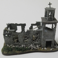 Small Ruined church 3D Printing 258445