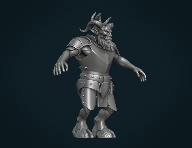 Demon figure II 3D Print 258452