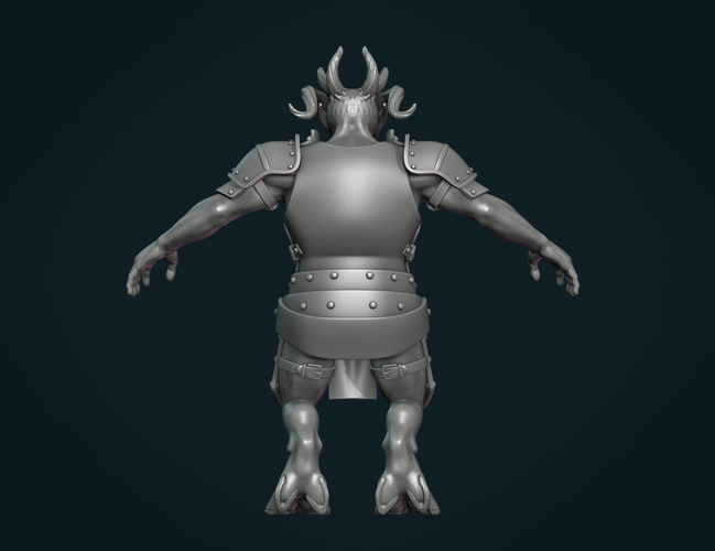 Demon figure II 3D Print 258454