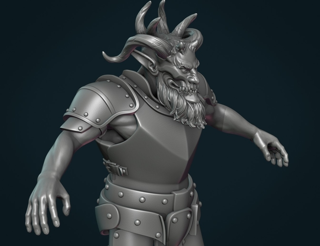 Demon figure II 3D Print 258456