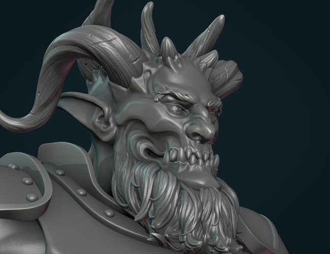 Demon figure II 3D Print 258462