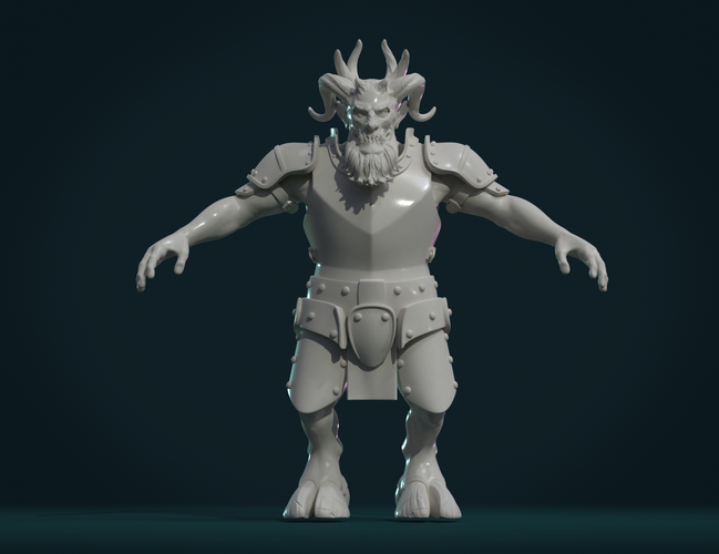 Demon figure II 3D Print 258466