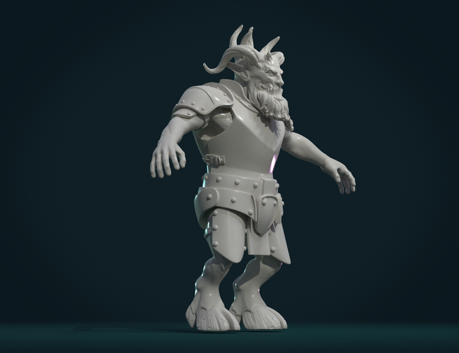 Demon figure II 3D Print 258467