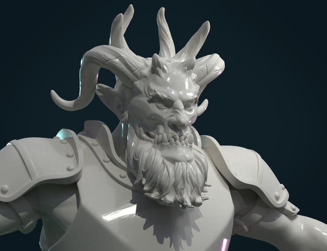 Demon figure II 3D Print 258468