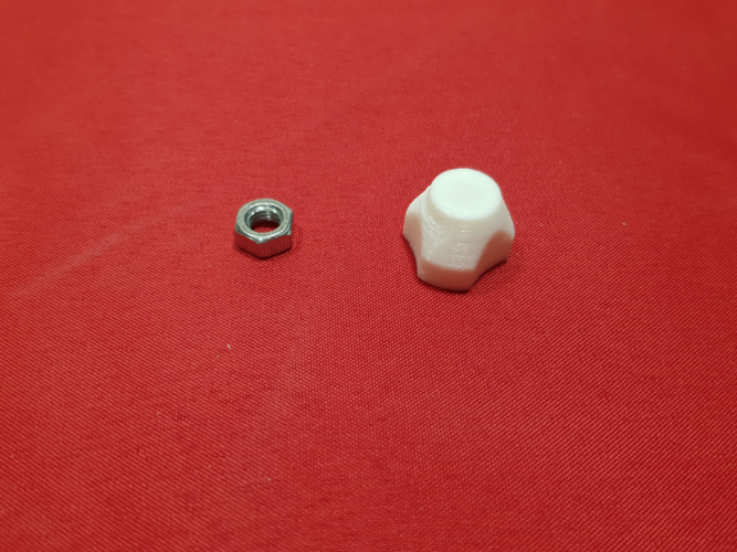 nut/screw-cover for M5 3D Print 258494