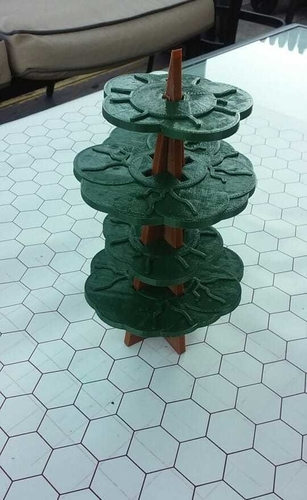 Easy Storage gaming tree  3D Print 258526