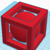 Small Boll in a box 3D Printing 258552