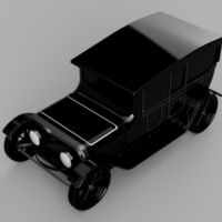 Small Classic Car 1 3D Printing 258557