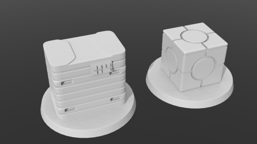 Legion scale boxes 3D Print 258604