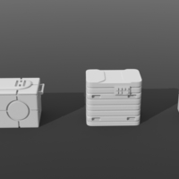 Small Legion scale boxes 3D Printing 258605