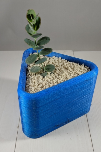 Triangle Planter 3D Print 258766
