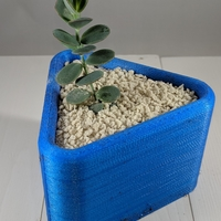 Small Triangle Planter 3D Printing 258766