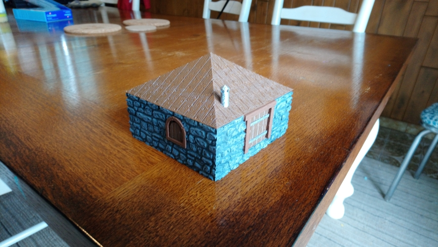 Leomunds Tiny Shelter / Cottage 3D Print 258767