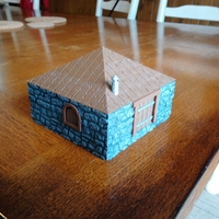 Small Leomunds Tiny Shelter / Cottage 3D Printing 258767