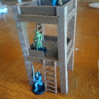 Small Guard / Watch Tower 3D Printing 258774