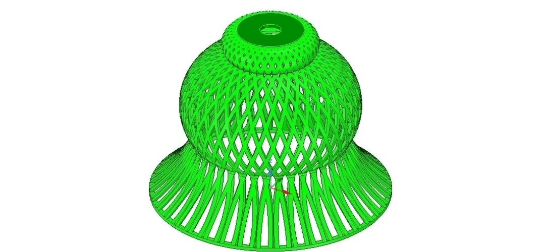 Lights Lampshade v18 for real 3D printing  3D Print 258792