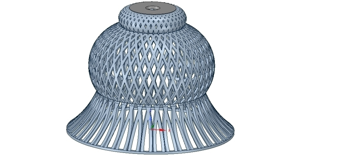 Lights Lampshade v18 for real 3D printing  3D Print 258793