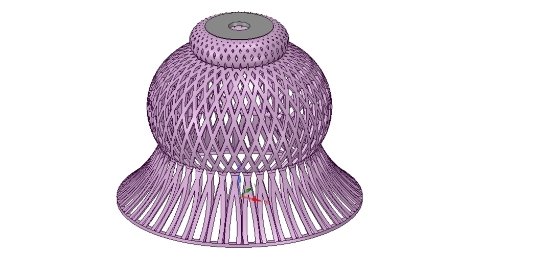 Lights Lampshade v18 for real 3D printing  3D Print 258796