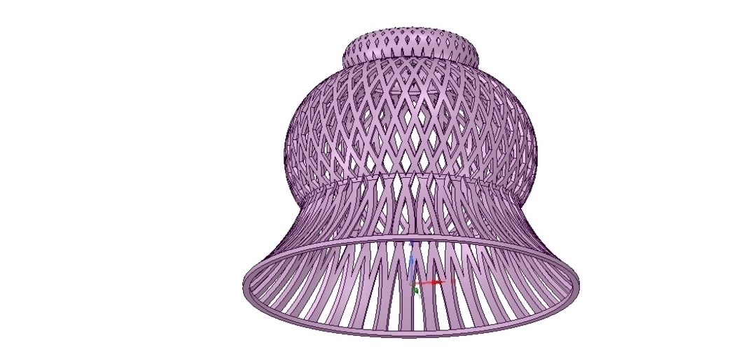 Lights Lampshade v18 for real 3D printing  3D Print 258797