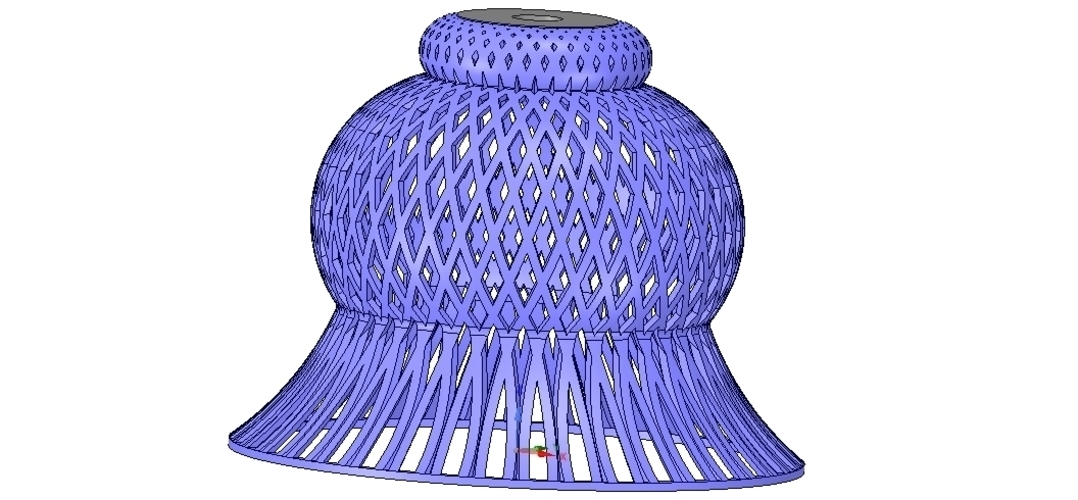 Lights Lampshade v18 for real 3D printing  3D Print 258798