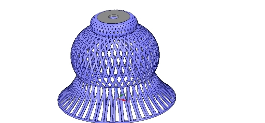 Lights Lampshade v18 for real 3D printing  3D Print 258800