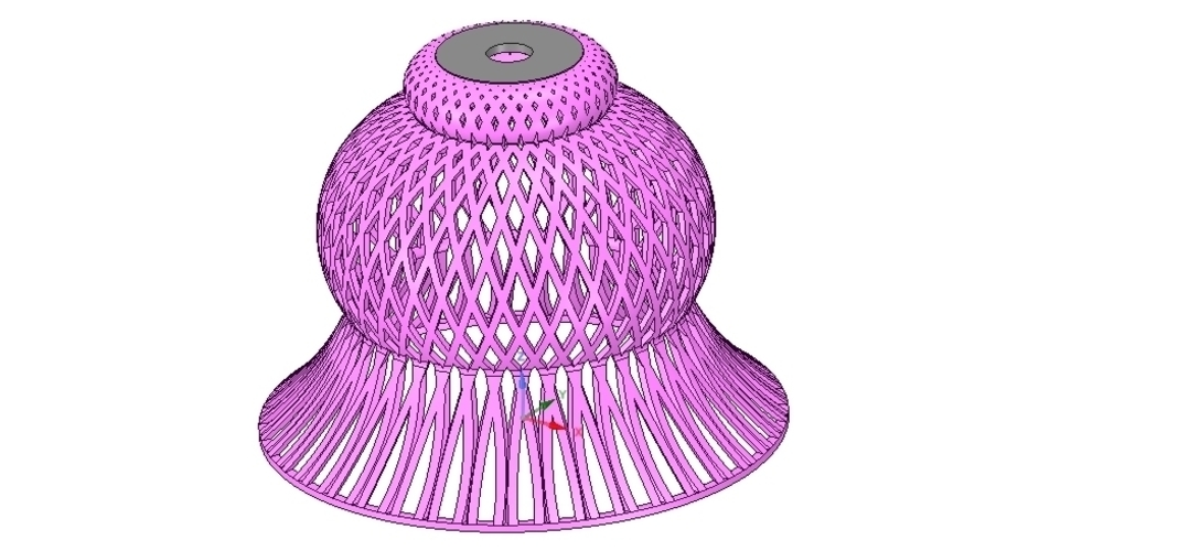 Lights Lampshade v18 for real 3D printing  3D Print 258801