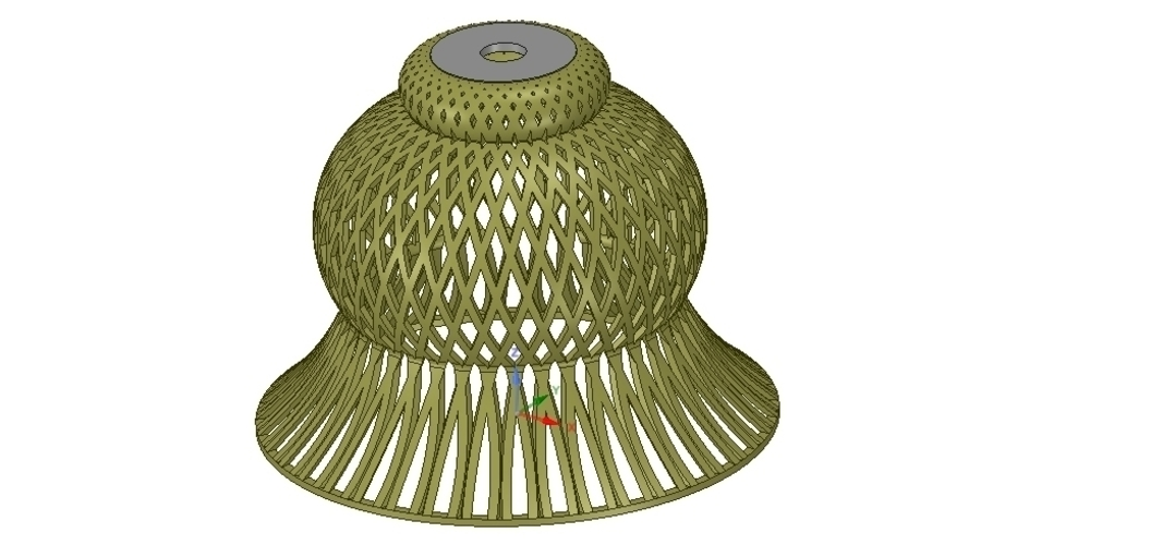 Lights Lampshade v18 for real 3D printing  3D Print 258802