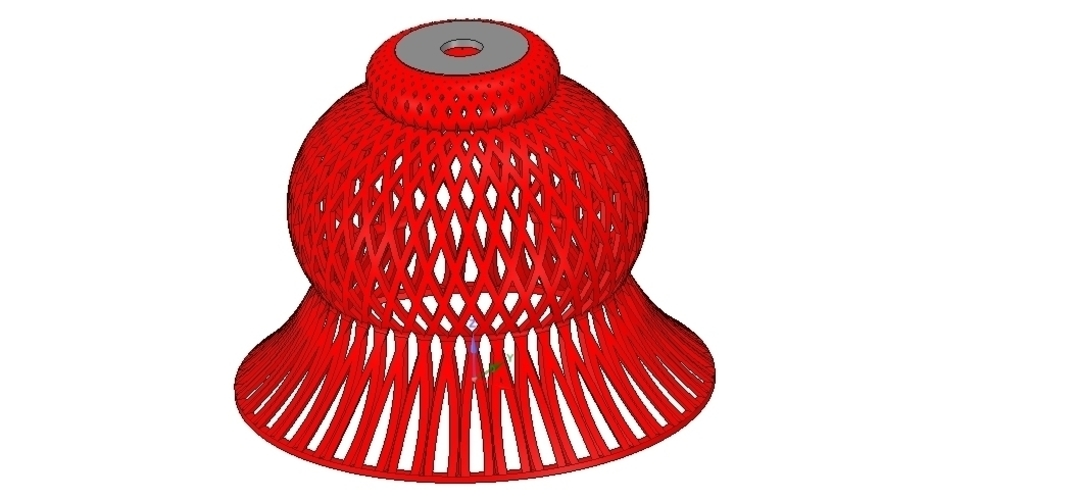 Lights Lampshade v18 for real 3D printing  3D Print 258803
