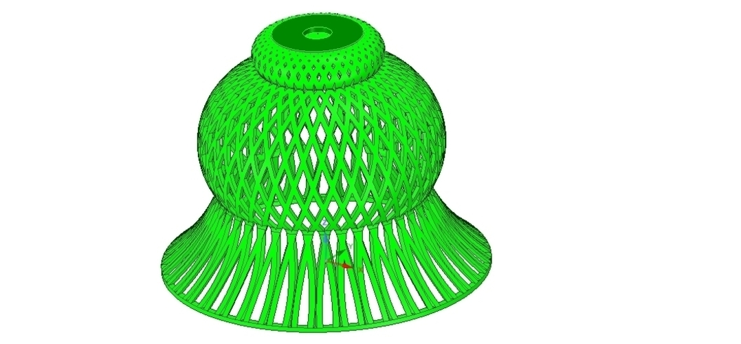 Lights Lampshade v18 for real 3D printing  3D Print 258804