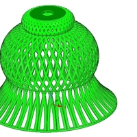 Small Lights Lampshade v18 for real 3D printing  3D Printing 258804