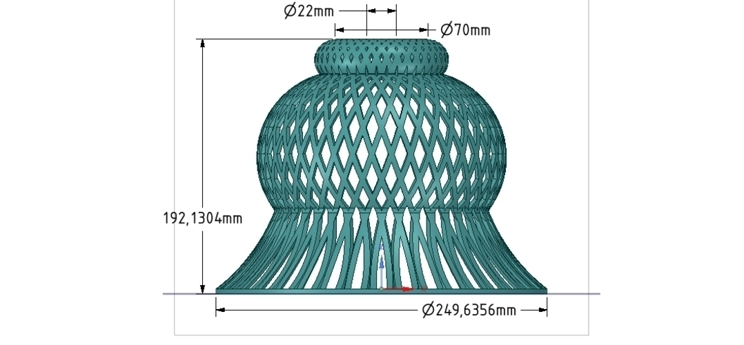 Lights Lampshade v18 for real 3D printing  3D Print 258809