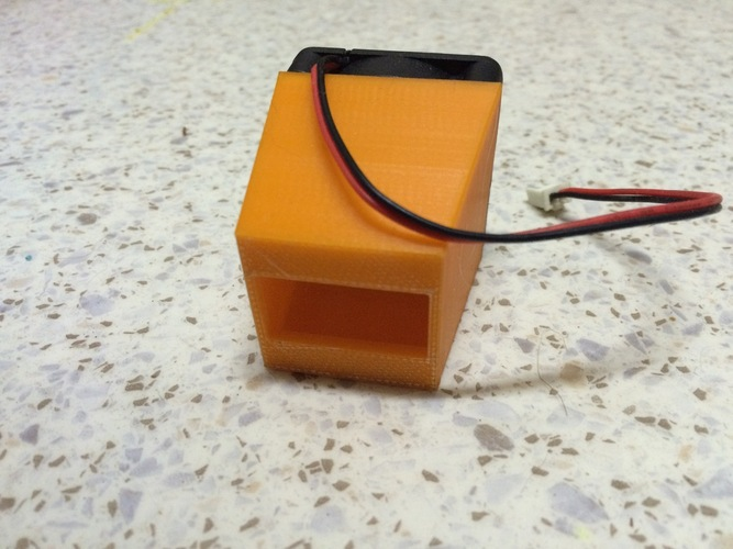 A Simple Mosfet Fan Duct 3D Print 25883