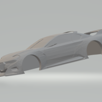 Small BMW CSL Hommage 3D Printing 258851