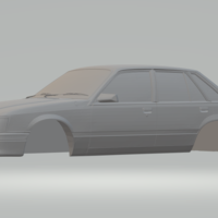Small holden commodore 85 3D Printing 258858