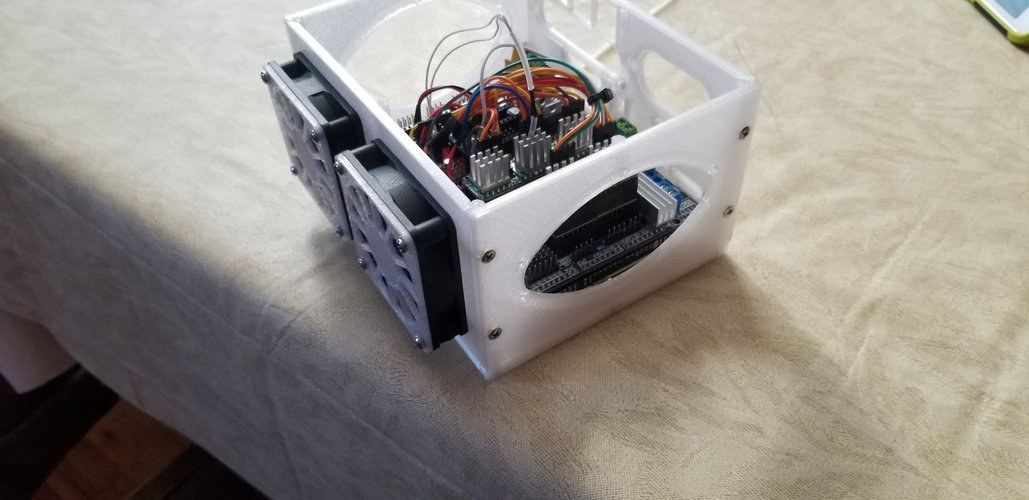 3D Printer Electronics Enclosure 3D Print 259045