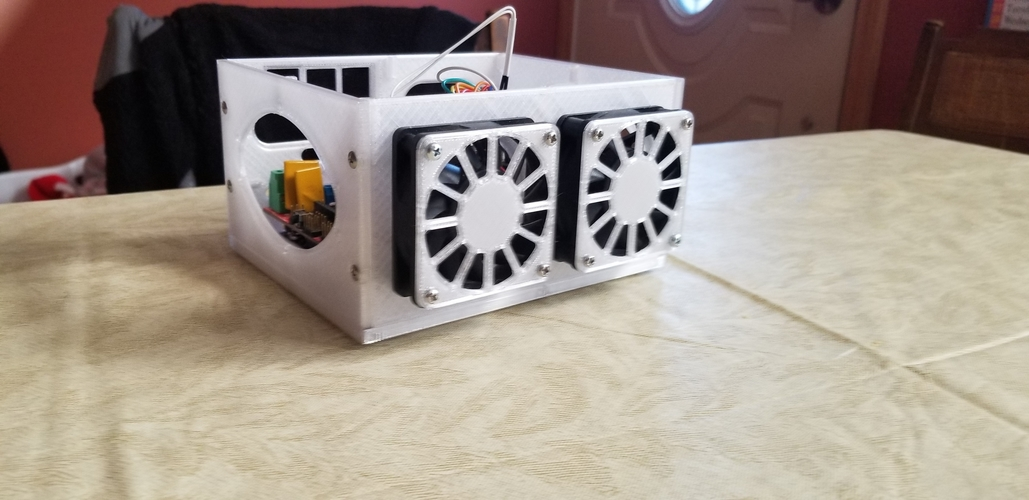 3D Printer Electronics Enclosure 3D Print 259049