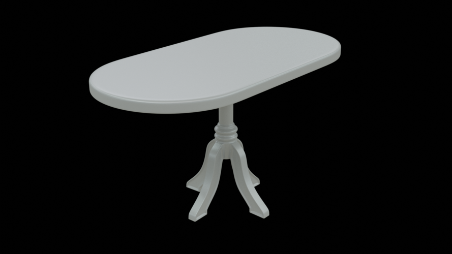 Dolls Table 3D Print 259105